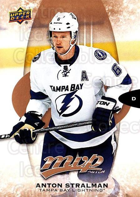 2016-17 Upper Deck MVP #13 Anton Stralman<br/>10 In Stock - $1.00 each - <a href=https://centericecollectibles.foxycart.com/cart?name=2016-17%20Upper%20Deck%20MVP%20%2313%20Anton%20Stralman...&quantity_max=10&price=$1.00&code=678988 class=foxycart> Buy it now! </a>