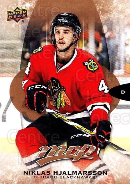 2016-17 Upper Deck MVP #23 Niklas Hjalmarsson<br/>8 In Stock - $1.00 each - <a href=https://centericecollectibles.foxycart.com/cart?name=2016-17%20Upper%20Deck%20MVP%20%2323%20Niklas%20Hjalmars...&quantity_max=8&price=$1.00&code=678998 class=foxycart> Buy it now! </a>