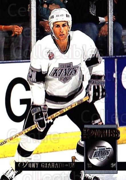 1993-94 Donruss #160 Tony Granato<br/>5 In Stock - $1.00 each - <a href=https://centericecollectibles.foxycart.com/cart?name=1993-94%20Donruss%20%23160%20Tony%20Granato...&quantity_max=5&price=$1.00&code=6789 class=foxycart> Buy it now! </a>