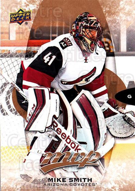 2016-17 Upper Deck MVP #38 Mike Smith<br/>10 In Stock - $1.00 each - <a href=https://centericecollectibles.foxycart.com/cart?name=2016-17%20Upper%20Deck%20MVP%20%2338%20Mike%20Smith...&quantity_max=10&price=$1.00&code=679013 class=foxycart> Buy it now! </a>