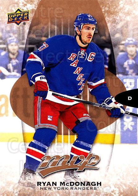 2016-17 Upper Deck MVP #40 Ryan McDonagh<br/>4 In Stock - $1.00 each - <a href=https://centericecollectibles.foxycart.com/cart?name=2016-17%20Upper%20Deck%20MVP%20%2340%20Ryan%20McDonagh...&quantity_max=4&price=$1.00&code=679015 class=foxycart> Buy it now! </a>
