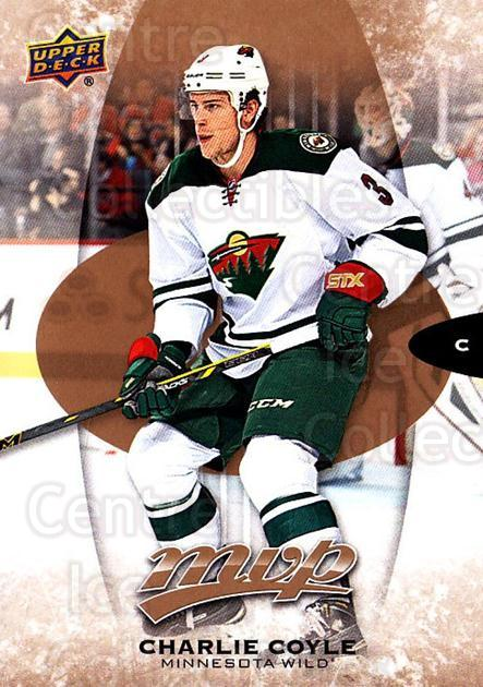 2016-17 Upper Deck MVP #50 Charlie Coyle<br/>10 In Stock - $1.00 each - <a href=https://centericecollectibles.foxycart.com/cart?name=2016-17%20Upper%20Deck%20MVP%20%2350%20Charlie%20Coyle...&quantity_max=10&price=$1.00&code=679025 class=foxycart> Buy it now! </a>