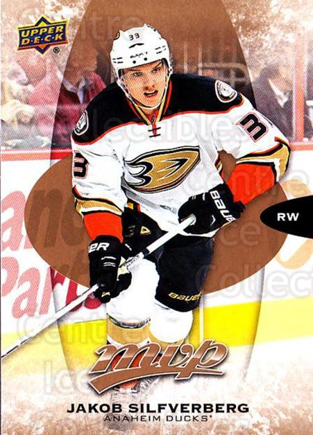 2016-17 Upper Deck MVP #51 Jakob Silfverberg<br/>10 In Stock - $1.00 each - <a href=https://centericecollectibles.foxycart.com/cart?name=2016-17%20Upper%20Deck%20MVP%20%2351%20Jakob%20Silfverbe...&quantity_max=10&price=$1.00&code=679026 class=foxycart> Buy it now! </a>