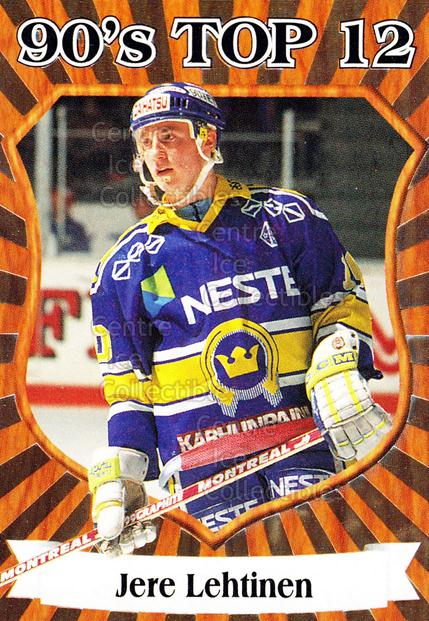 1998-99 Finnish Cardset 90s Top 12 #1 Jere Lehtinen<br/>6 In Stock - $3.00 each - <a href=https://centericecollectibles.foxycart.com/cart?name=1998-99%20Finnish%20Cardset%2090s%20Top%2012%20%231%20Jere%20Lehtinen...&quantity_max=6&price=$3.00&code=67902 class=foxycart> Buy it now! </a>