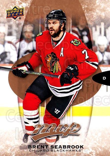 2016-17 Upper Deck MVP #64 Brent Seabrook<br/>10 In Stock - $1.00 each - <a href=https://centericecollectibles.foxycart.com/cart?name=2016-17%20Upper%20Deck%20MVP%20%2364%20Brent%20Seabrook...&quantity_max=10&price=$1.00&code=679039 class=foxycart> Buy it now! </a>