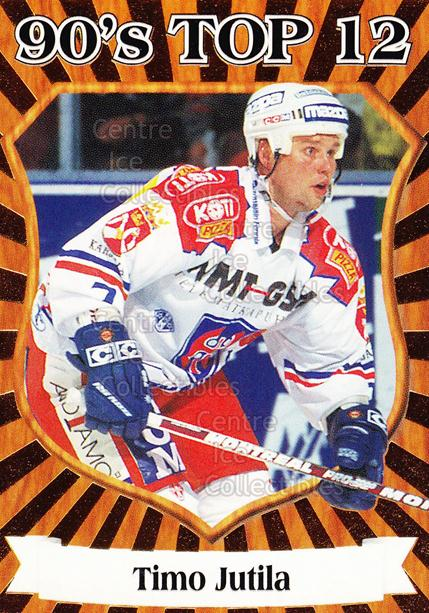 1998-99 Finnish Cardset 90s Top 12 #10 Timo Jutila<br/>5 In Stock - $3.00 each - <a href=https://centericecollectibles.foxycart.com/cart?name=1998-99%20Finnish%20Cardset%2090s%20Top%2012%20%2310%20Timo%20Jutila...&quantity_max=5&price=$3.00&code=67903 class=foxycart> Buy it now! </a>