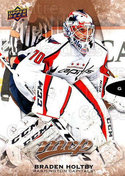 2016-17 Upper Deck MVP #68 Braden Holtby<br/>8 In Stock - $1.00 each - <a href=https://centericecollectibles.foxycart.com/cart?name=2016-17%20Upper%20Deck%20MVP%20%2368%20Braden%20Holtby...&quantity_max=8&price=$1.00&code=679043 class=foxycart> Buy it now! </a>