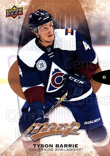 2016-17 Upper Deck MVP #75 Tyson Barrie<br/>10 In Stock - $1.00 each - <a href=https://centericecollectibles.foxycart.com/cart?name=2016-17%20Upper%20Deck%20MVP%20%2375%20Tyson%20Barrie...&quantity_max=10&price=$1.00&code=679050 class=foxycart> Buy it now! </a>