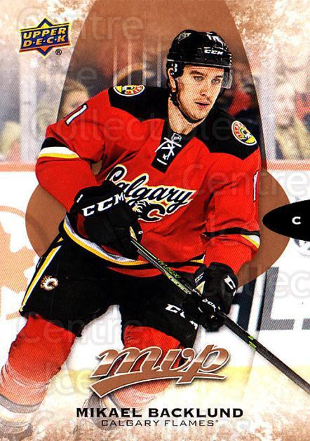 2016-17 Upper Deck MVP #98 Mikael Backlund<br/>10 In Stock - $1.00 each - <a href=https://centericecollectibles.foxycart.com/cart?name=2016-17%20Upper%20Deck%20MVP%20%2398%20Mikael%20Backlund...&quantity_max=10&price=$1.00&code=679073 class=foxycart> Buy it now! </a>
