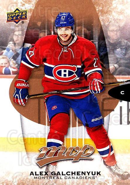 2016-17 Upper Deck MVP #102 Alex Galchenyuk<br/>8 In Stock - $1.00 each - <a href=https://centericecollectibles.foxycart.com/cart?name=2016-17%20Upper%20Deck%20MVP%20%23102%20Alex%20Galchenyuk...&quantity_max=8&price=$1.00&code=679077 class=foxycart> Buy it now! </a>