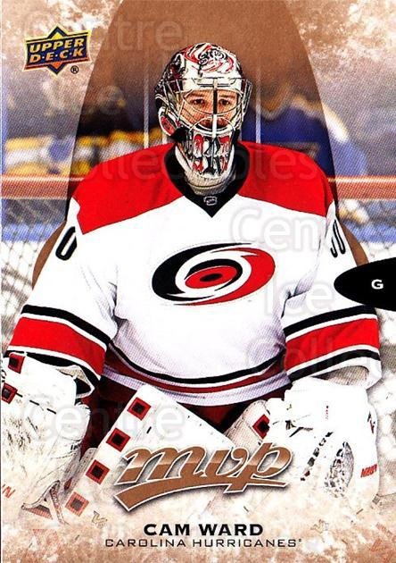 2016-17 Upper Deck MVP #110 Cam Ward<br/>5 In Stock - $1.00 each - <a href=https://centericecollectibles.foxycart.com/cart?name=2016-17%20Upper%20Deck%20MVP%20%23110%20Cam%20Ward...&price=$1.00&code=679085 class=foxycart> Buy it now! </a>