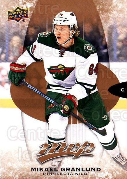 2016-17 Upper Deck MVP #114 Mikael Granlund<br/>9 In Stock - $1.00 each - <a href=https://centericecollectibles.foxycart.com/cart?name=2016-17%20Upper%20Deck%20MVP%20%23114%20Mikael%20Granlund...&quantity_max=9&price=$1.00&code=679089 class=foxycart> Buy it now! </a>