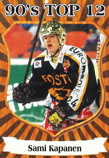 1998-99 Finnish Cardset 90s Top 12 #7 Sami Kapanen<br/>5 In Stock - $3.00 each - <a href=https://centericecollectibles.foxycart.com/cart?name=1998-99%20Finnish%20Cardset%2090s%20Top%2012%20%237%20Sami%20Kapanen...&quantity_max=5&price=$3.00&code=67909 class=foxycart> Buy it now! </a>
