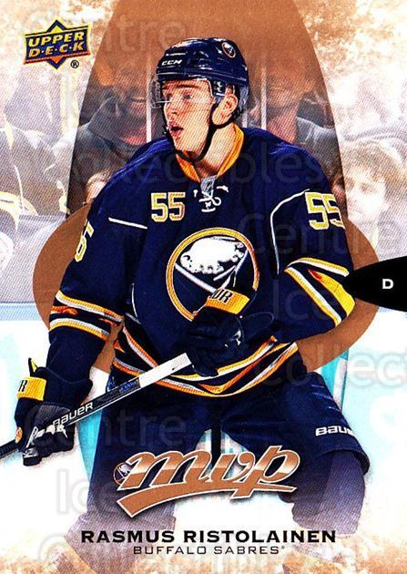 2016-17 Upper Deck MVP #129 Rasmus Ristolainen<br/>9 In Stock - $1.00 each - <a href=https://centericecollectibles.foxycart.com/cart?name=2016-17%20Upper%20Deck%20MVP%20%23129%20Rasmus%20Ristolai...&quantity_max=9&price=$1.00&code=679104 class=foxycart> Buy it now! </a>