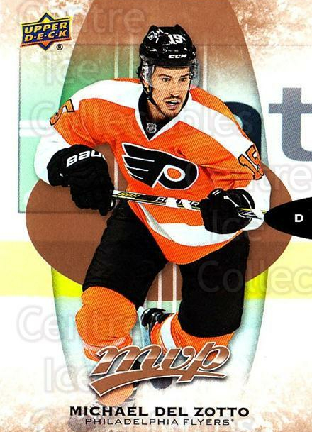 2016-17 Upper Deck MVP #132 Michael Del Zotto<br/>9 In Stock - $1.00 each - <a href=https://centericecollectibles.foxycart.com/cart?name=2016-17%20Upper%20Deck%20MVP%20%23132%20Michael%20Del%20Zot...&quantity_max=9&price=$1.00&code=679107 class=foxycart> Buy it now! </a>