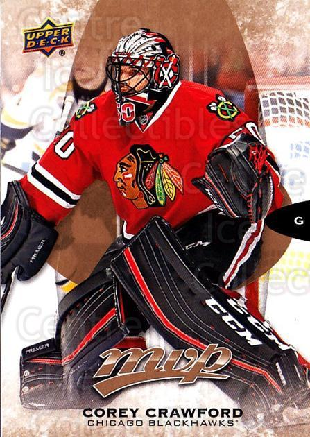 2016-17 Upper Deck MVP #134 Corey Crawford<br/>3 In Stock - $1.00 each - <a href=https://centericecollectibles.foxycart.com/cart?name=2016-17%20Upper%20Deck%20MVP%20%23134%20Corey%20Crawford...&quantity_max=3&price=$1.00&code=679109 class=foxycart> Buy it now! </a>