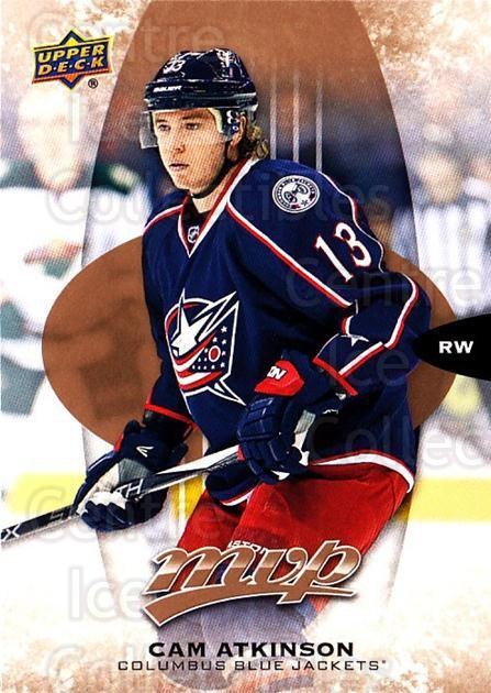 2016-17 Upper Deck MVP #156 Cam Atkinson<br/>10 In Stock - $1.00 each - <a href=https://centericecollectibles.foxycart.com/cart?name=2016-17%20Upper%20Deck%20MVP%20%23156%20Cam%20Atkinson...&quantity_max=10&price=$1.00&code=679131 class=foxycart> Buy it now! </a>