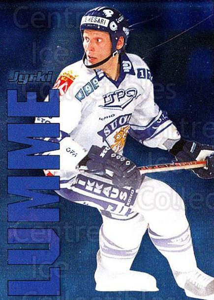 1998-99 Finnish Cardset Dream Team #3 Jyrki Lumme<br/>3 In Stock - $3.00 each - <a href=https://centericecollectibles.foxycart.com/cart?name=1998-99%20Finnish%20Cardset%20Dream%20Team%20%233%20Jyrki%20Lumme...&quantity_max=3&price=$3.00&code=67913 class=foxycart> Buy it now! </a>