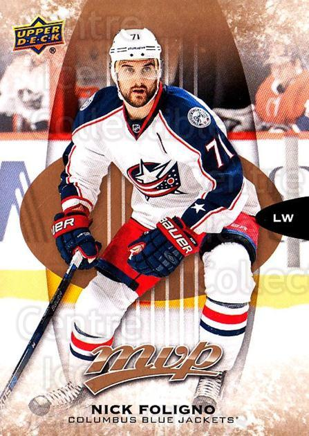 2016-17 Upper Deck MVP #169 Nick Foligno<br/>10 In Stock - $1.00 each - <a href=https://centericecollectibles.foxycart.com/cart?name=2016-17%20Upper%20Deck%20MVP%20%23169%20Nick%20Foligno...&quantity_max=10&price=$1.00&code=679144 class=foxycart> Buy it now! </a>