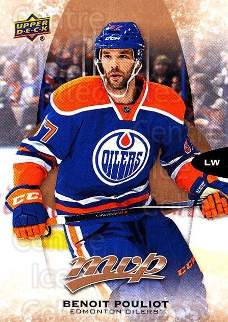 2016-17 Upper Deck MVP #172 Benoit Pouliot<br/>10 In Stock - $1.00 each - <a href=https://centericecollectibles.foxycart.com/cart?name=2016-17%20Upper%20Deck%20MVP%20%23172%20Benoit%20Pouliot...&quantity_max=10&price=$1.00&code=679147 class=foxycart> Buy it now! </a>