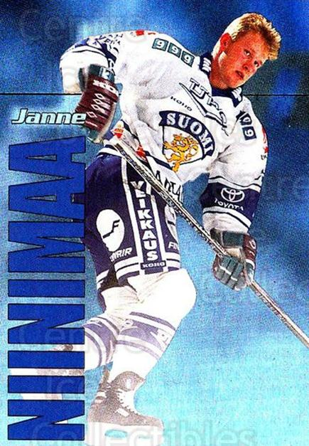 1998-99 Finnish Cardset Dream Team #4 Janne Niinimaa<br/>3 In Stock - $3.00 each - <a href=https://centericecollectibles.foxycart.com/cart?name=1998-99%20Finnish%20Cardset%20Dream%20Team%20%234%20Janne%20Niinimaa...&quantity_max=3&price=$3.00&code=67914 class=foxycart> Buy it now! </a>