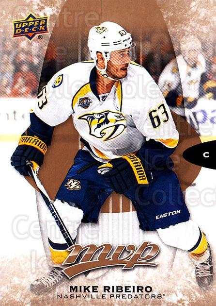 2016-17 Upper Deck MVP #176 Mike Ribeiro<br/>10 In Stock - $1.00 each - <a href=https://centericecollectibles.foxycart.com/cart?name=2016-17%20Upper%20Deck%20MVP%20%23176%20Mike%20Ribeiro...&quantity_max=10&price=$1.00&code=679151 class=foxycart> Buy it now! </a>