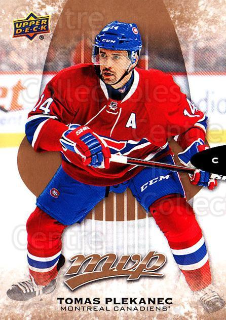 2016-17 Upper Deck MVP #194 Tomas Plekanec<br/>7 In Stock - $1.00 each - <a href=https://centericecollectibles.foxycart.com/cart?name=2016-17%20Upper%20Deck%20MVP%20%23194%20Tomas%20Plekanec...&quantity_max=7&price=$1.00&code=679169 class=foxycart> Buy it now! </a>