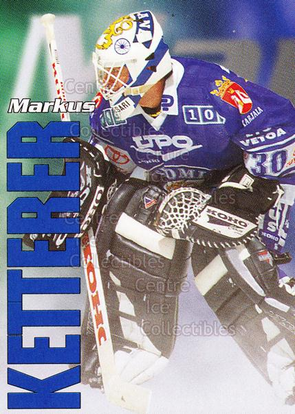 1998-99 Finnish Cardset Leijonat #1 Markus Ketterer<br/>3 In Stock - $3.00 each - <a href=https://centericecollectibles.foxycart.com/cart?name=1998-99%20Finnish%20Cardset%20Leijonat%20%231%20Markus%20Ketterer...&quantity_max=3&price=$3.00&code=67916 class=foxycart> Buy it now! </a>