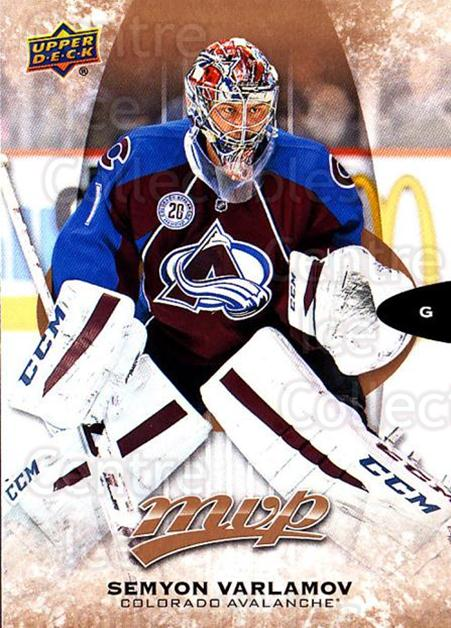 2016-17 Upper Deck MVP #195 Semyon Varlamov<br/>10 In Stock - $1.00 each - <a href=https://centericecollectibles.foxycart.com/cart?name=2016-17%20Upper%20Deck%20MVP%20%23195%20Semyon%20Varlamov...&quantity_max=10&price=$1.00&code=679170 class=foxycart> Buy it now! </a>