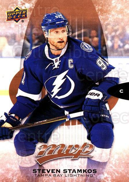 2016-17 Upper Deck MVP #201 Steven Stamkos<br/>1 In Stock - $3.00 each - <a href=https://centericecollectibles.foxycart.com/cart?name=2016-17%20Upper%20Deck%20MVP%20%23201%20Steven%20Stamkos...&quantity_max=1&price=$3.00&code=679176 class=foxycart> Buy it now! </a>