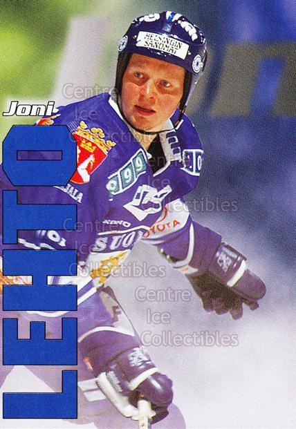 1998-99 Finnish Cardset Leijonat #10 Joni Lehto<br/>5 In Stock - $3.00 each - <a href=https://centericecollectibles.foxycart.com/cart?name=1998-99%20Finnish%20Cardset%20Leijonat%20%2310%20Joni%20Lehto...&quantity_max=5&price=$3.00&code=67917 class=foxycart> Buy it now! </a>