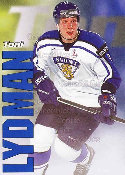 1998-99 Finnish Cardset Leijonat #13 Toni Lydman<br/>4 In Stock - $3.00 each - <a href=https://centericecollectibles.foxycart.com/cart?name=1998-99%20Finnish%20Cardset%20Leijonat%20%2313%20Toni%20Lydman...&quantity_max=4&price=$3.00&code=67920 class=foxycart> Buy it now! </a>