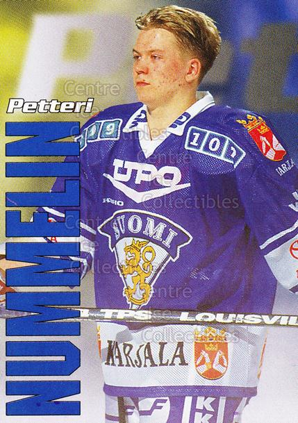1998-99 Finnish Cardset Leijonat #15 Petteri Nummelin<br/>4 In Stock - $3.00 each - <a href=https://centericecollectibles.foxycart.com/cart?name=1998-99%20Finnish%20Cardset%20Leijonat%20%2315%20Petteri%20Nummeli...&quantity_max=4&price=$3.00&code=67922 class=foxycart> Buy it now! </a>