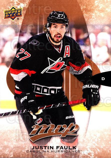 2016-17 Upper Deck MVP #264 Justin Faulk<br/>1 In Stock - $3.00 each - <a href=https://centericecollectibles.foxycart.com/cart?name=2016-17%20Upper%20Deck%20MVP%20%23264%20Justin%20Faulk...&quantity_max=1&price=$3.00&code=679239 class=foxycart> Buy it now! </a>