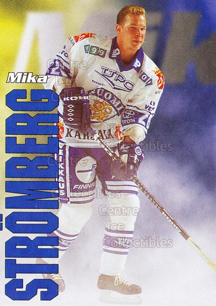 1998-99 Finnish Cardset Leijonat #16 Mika Stromberg<br/>5 In Stock - $3.00 each - <a href=https://centericecollectibles.foxycart.com/cart?name=1998-99%20Finnish%20Cardset%20Leijonat%20%2316%20Mika%20Stromberg...&quantity_max=5&price=$3.00&code=67923 class=foxycart> Buy it now! </a>