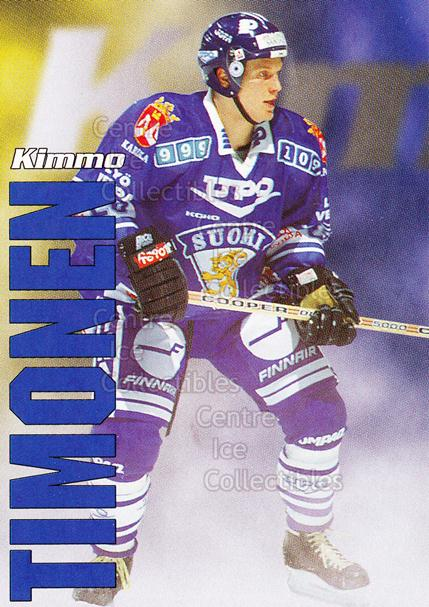 1998-99 Finnish Cardset Leijonat #17 Kimmo Timonen<br/>3 In Stock - $3.00 each - <a href=https://centericecollectibles.foxycart.com/cart?name=1998-99%20Finnish%20Cardset%20Leijonat%20%2317%20Kimmo%20Timonen...&quantity_max=3&price=$3.00&code=67924 class=foxycart> Buy it now! </a>