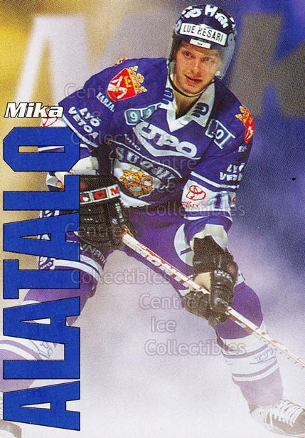 1998-99 Finnish Cardset Leijonat #19 Mika Alatalo<br/>6 In Stock - $3.00 each - <a href=https://centericecollectibles.foxycart.com/cart?name=1998-99%20Finnish%20Cardset%20Leijonat%20%2319%20Mika%20Alatalo...&quantity_max=6&price=$3.00&code=67926 class=foxycart> Buy it now! </a>