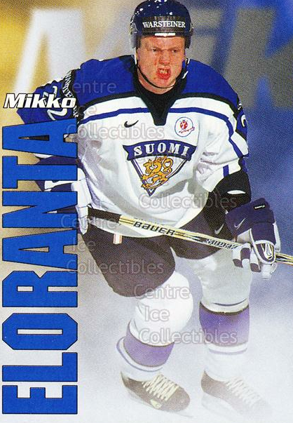 1998-99 Finnish Cardset Leijonat #20 Mikko Eloranta<br/>4 In Stock - $3.00 each - <a href=https://centericecollectibles.foxycart.com/cart?name=1998-99%20Finnish%20Cardset%20Leijonat%20%2320%20Mikko%20Eloranta...&quantity_max=4&price=$3.00&code=67928 class=foxycart> Buy it now! </a>