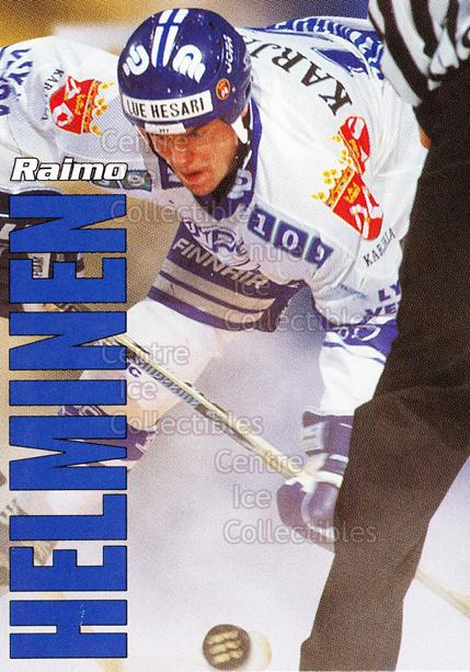 1998-99 Finnish Cardset Leijonat #21 Raimo Helminen<br/>2 In Stock - $3.00 each - <a href=https://centericecollectibles.foxycart.com/cart?name=1998-99%20Finnish%20Cardset%20Leijonat%20%2321%20Raimo%20Helminen...&quantity_max=2&price=$3.00&code=67929 class=foxycart> Buy it now! </a>