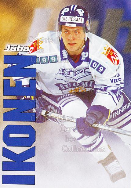 1998-99 Finnish Cardset Leijonat #22 Juha Ikonen<br/>6 In Stock - $3.00 each - <a href=https://centericecollectibles.foxycart.com/cart?name=1998-99%20Finnish%20Cardset%20Leijonat%20%2322%20Juha%20Ikonen...&quantity_max=6&price=$3.00&code=67930 class=foxycart> Buy it now! </a>