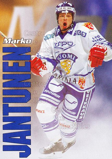 1998-99 Finnish Cardset Leijonat #23 Marko Jantunen<br/>5 In Stock - $3.00 each - <a href=https://centericecollectibles.foxycart.com/cart?name=1998-99%20Finnish%20Cardset%20Leijonat%20%2323%20Marko%20Jantunen...&quantity_max=5&price=$3.00&code=67931 class=foxycart> Buy it now! </a>
