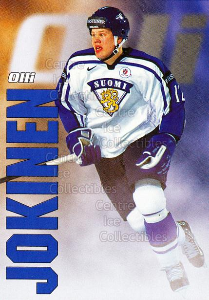 1998-99 Finnish Cardset Leijonat #24 Olli Jokinen<br/>4 In Stock - $3.00 each - <a href=https://centericecollectibles.foxycart.com/cart?name=1998-99%20Finnish%20Cardset%20Leijonat%20%2324%20Olli%20Jokinen...&quantity_max=4&price=$3.00&code=67932 class=foxycart> Buy it now! </a>