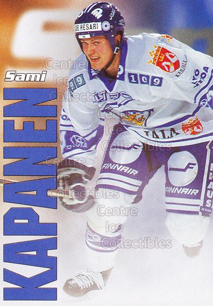 1998-99 Finnish Cardset Leijonat #26 Sami Kapanen<br/>4 In Stock - $3.00 each - <a href=https://centericecollectibles.foxycart.com/cart?name=1998-99%20Finnish%20Cardset%20Leijonat%20%2326%20Sami%20Kapanen...&quantity_max=4&price=$3.00&code=67934 class=foxycart> Buy it now! </a>