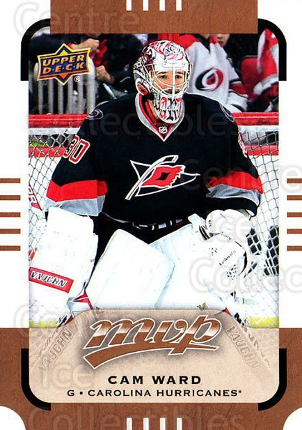 2015-16 Upper Deck MVP #30 Cam Ward<br/>6 In Stock - $1.00 each - <a href=https://centericecollectibles.foxycart.com/cart?name=2015-16%20Upper%20Deck%20MVP%20%2330%20Cam%20Ward...&price=$1.00&code=679365 class=foxycart> Buy it now! </a>
