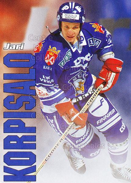 1998-99 Finnish Cardset Leijonat #28 Jari Korpisalo<br/>7 In Stock - $3.00 each - <a href=https://centericecollectibles.foxycart.com/cart?name=1998-99%20Finnish%20Cardset%20Leijonat%20%2328%20Jari%20Korpisalo...&quantity_max=7&price=$3.00&code=67936 class=foxycart> Buy it now! </a>