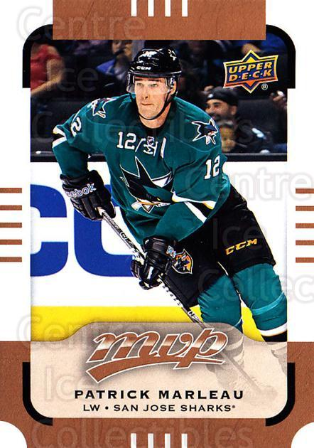 <a href=index.aspx?SetName=2015-16%20Upper%20Deck%20MVP>2015-16 Upper Deck MVP</a> #44 <a href=index.aspx?PlayerName=Patrick%20Marleau> Patrick Marleau</a><br/>12 in stock - $1.00 each - <a href=https://centericecollectibles.foxycart.com/cart?name=2015-16%20Upper%20Deck%20MVP%20%2344%20Patrick%20Marleau...&price=$1.00&code=679379 class=foxycart> Buy it now! </a>