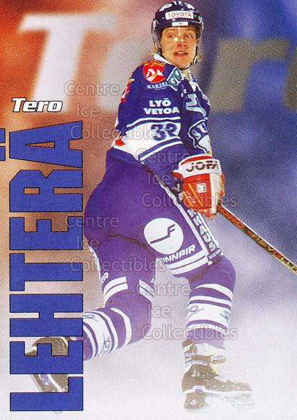 1998-99 Finnish Cardset Leijonat #29 Tero Lehtera<br/>11 In Stock - $3.00 each - <a href=https://centericecollectibles.foxycart.com/cart?name=1998-99%20Finnish%20Cardset%20Leijonat%20%2329%20Tero%20Lehtera...&quantity_max=11&price=$3.00&code=67937 class=foxycart> Buy it now! </a>