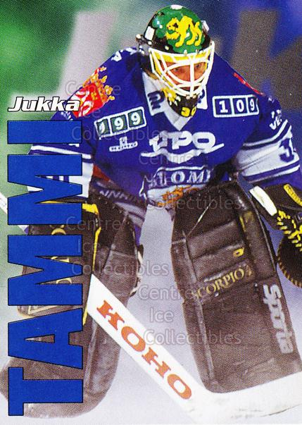 1998-99 Finnish Cardset Leijonat #3 Jukka Tammi<br/>1 In Stock - $3.00 each - <a href=https://centericecollectibles.foxycart.com/cart?name=1998-99%20Finnish%20Cardset%20Leijonat%20%233%20Jukka%20Tammi...&quantity_max=1&price=$3.00&code=67938 class=foxycart> Buy it now! </a>