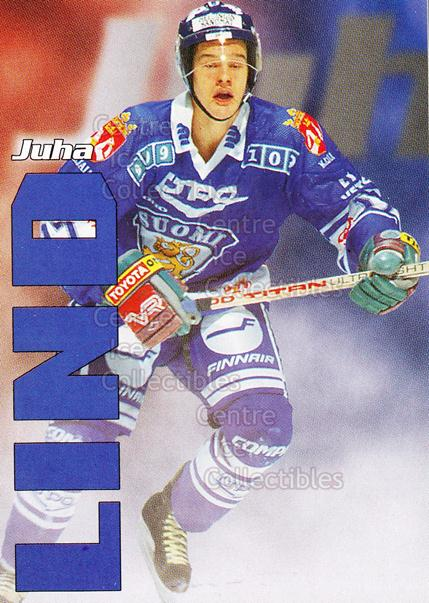 1998-99 Finnish Cardset Leijonat #30 Juha Lind<br/>3 In Stock - $3.00 each - <a href=https://centericecollectibles.foxycart.com/cart?name=1998-99%20Finnish%20Cardset%20Leijonat%20%2330%20Juha%20Lind...&quantity_max=3&price=$3.00&code=67939 class=foxycart> Buy it now! </a>