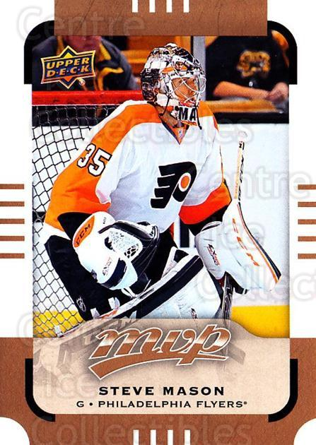 2015-16 Upper Deck MVP #65 Steve Mason<br/>12 In Stock - $1.00 each - <a href=https://centericecollectibles.foxycart.com/cart?name=2015-16%20Upper%20Deck%20MVP%20%2365%20Steve%20Mason...&quantity_max=12&price=$1.00&code=679400 class=foxycart> Buy it now! </a>